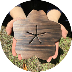制作物の例:鍋敷き